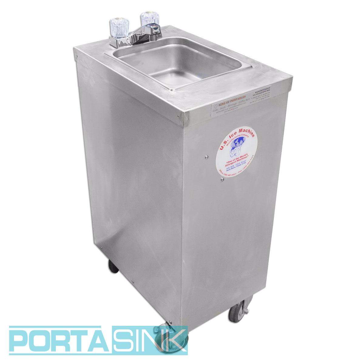 Portable Mini Aluminum Hand Sink U2013 Portable Sink U2013 Portable Sinks U0026  Portable Bars